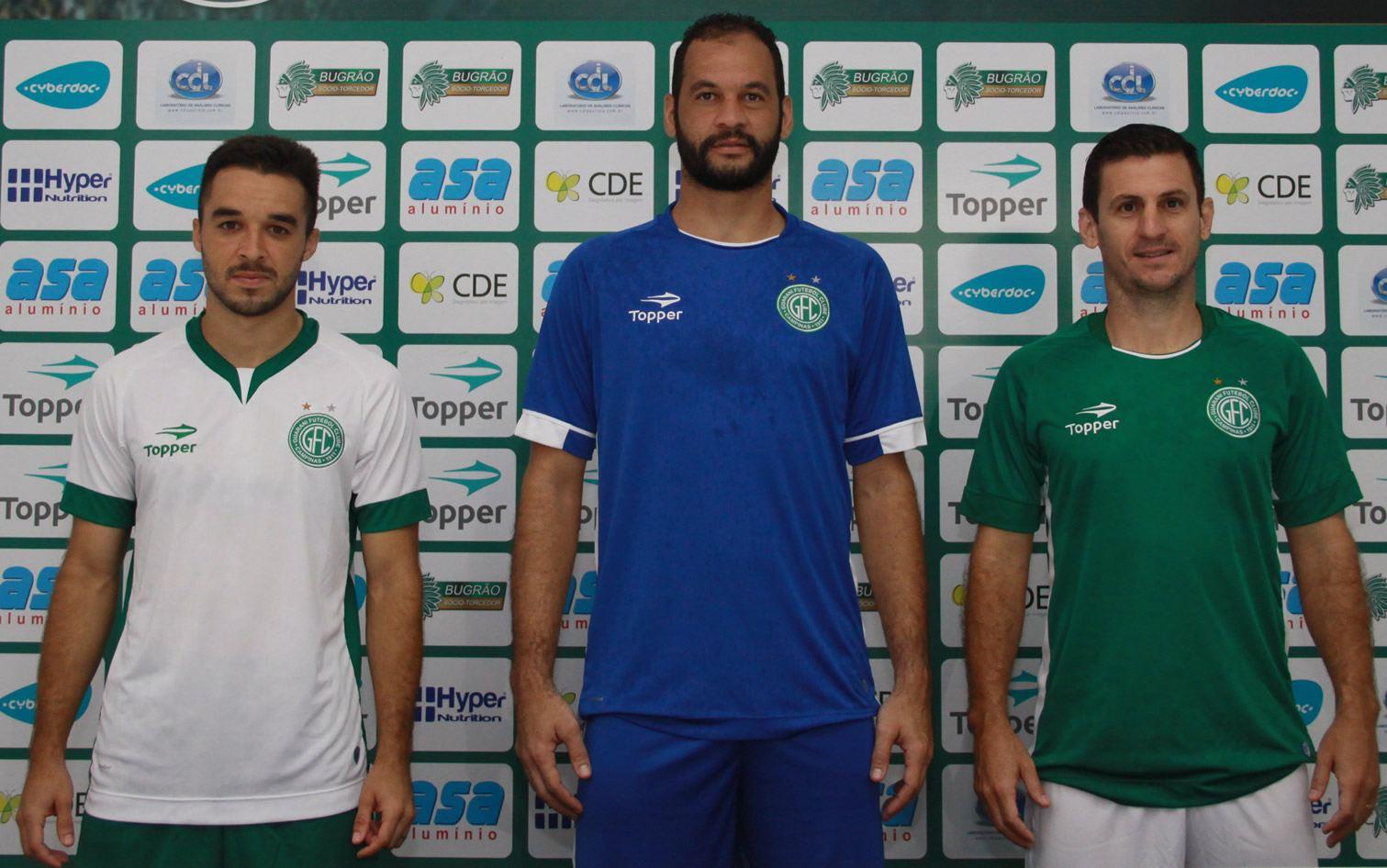 Nuevas camisetas del Guaraní FC | Foto Web Oficial