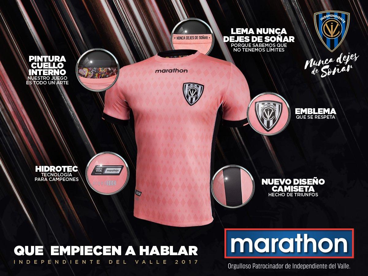 Nueva camiseta suplente | Foto Marathon