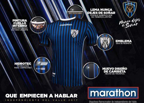 Nueva camiseta titular | Foto Marathon