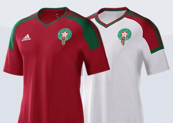 Asi son las camisetas de Marruecos | Imágenes Adidas