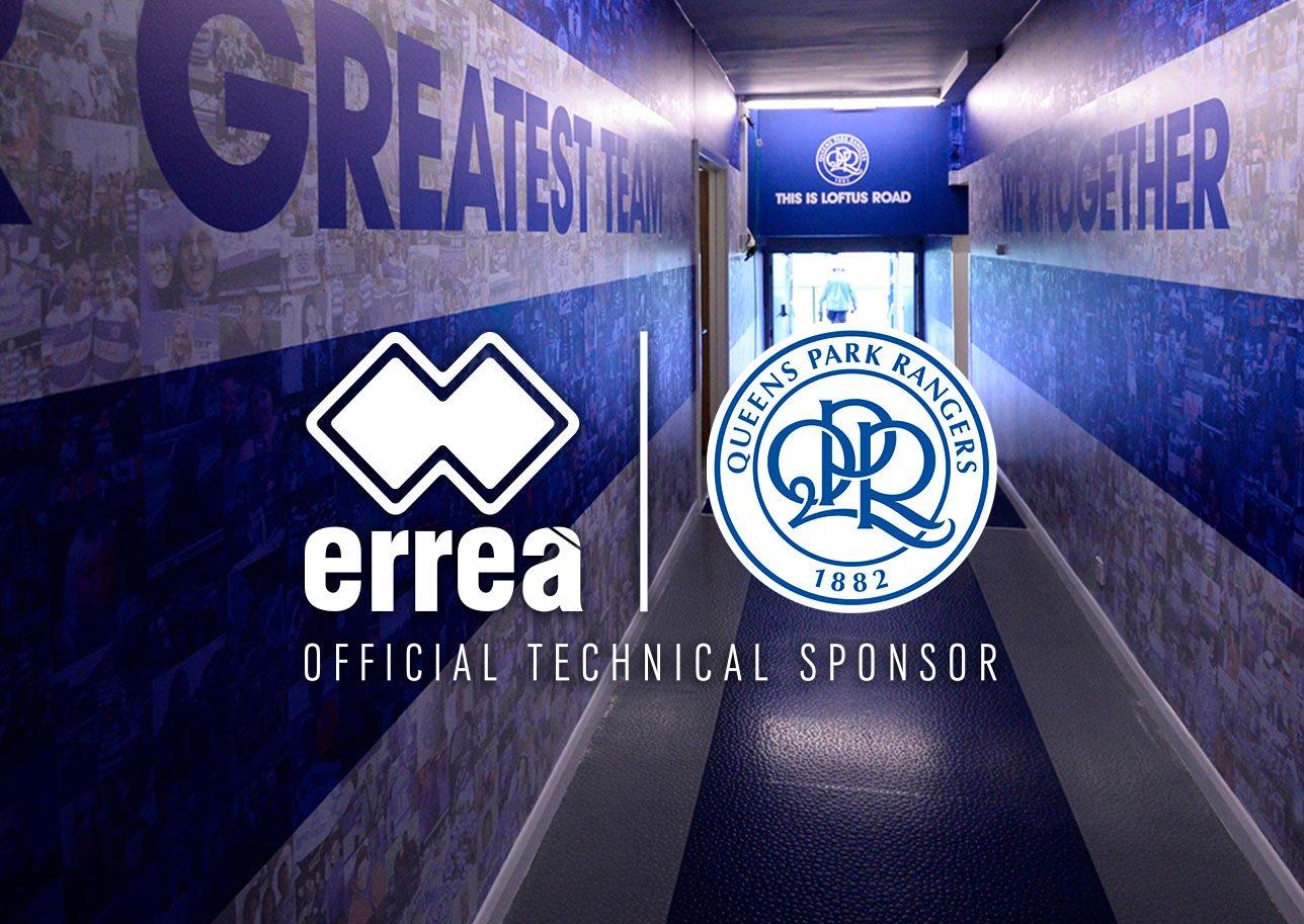 QPR tiene nuevo sponsor técnico | Foto Erreà