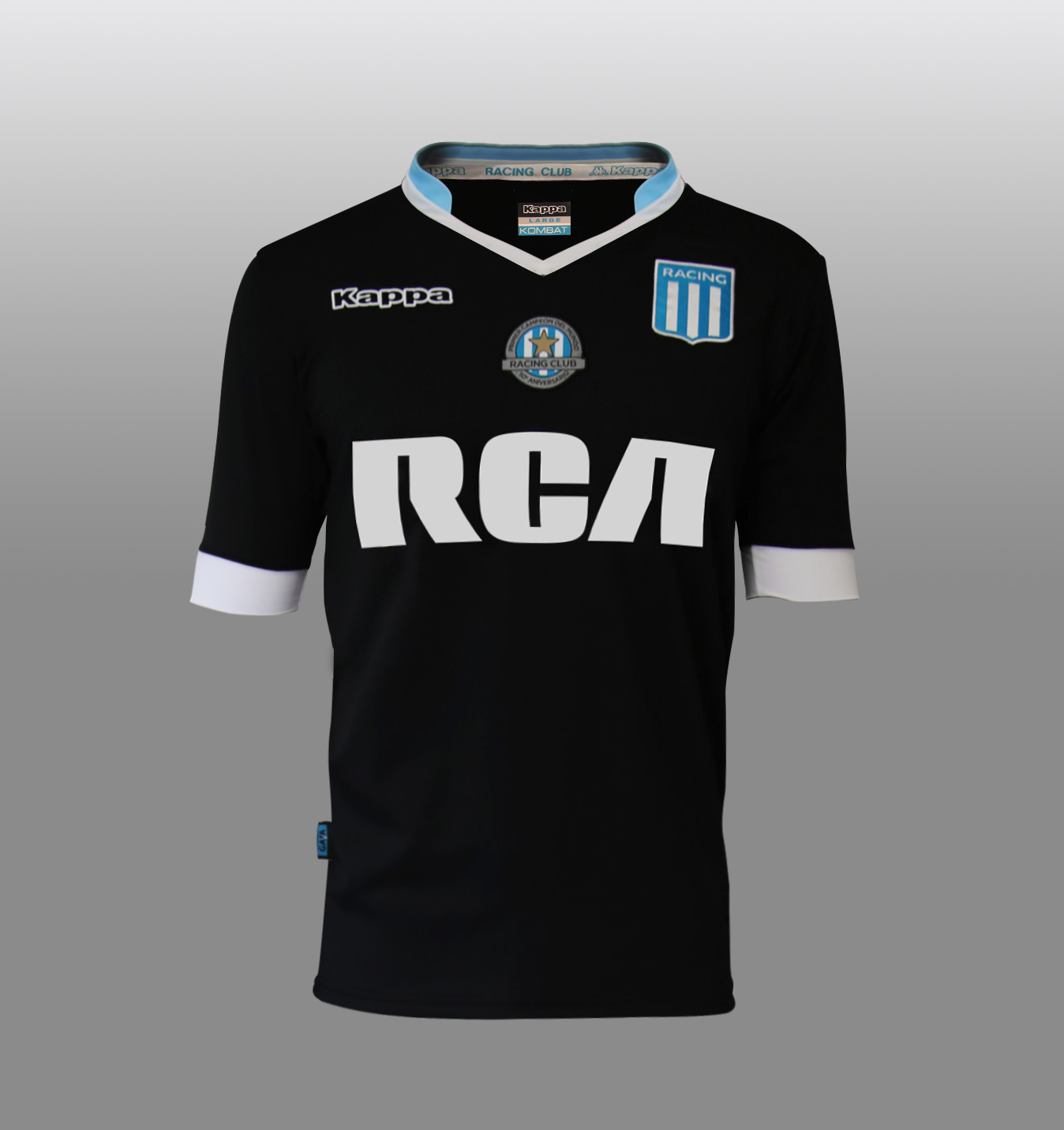 Camiseta alternativa de Racing | Foto Web Oficial