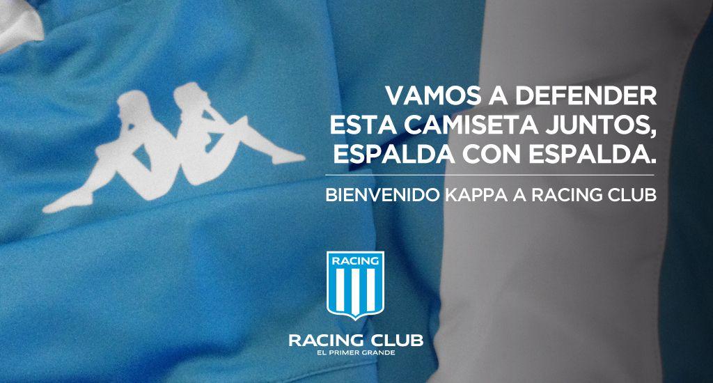 Racing vestirá Kappa | Foto Web Oficial