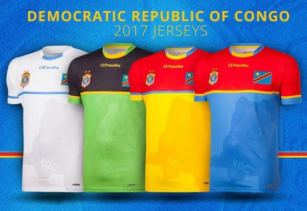 Camisetas de la RD del Congo | Foto O'Neills