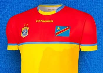 Camisetas porteros de la RD del Congo | Imágenes O'Neills