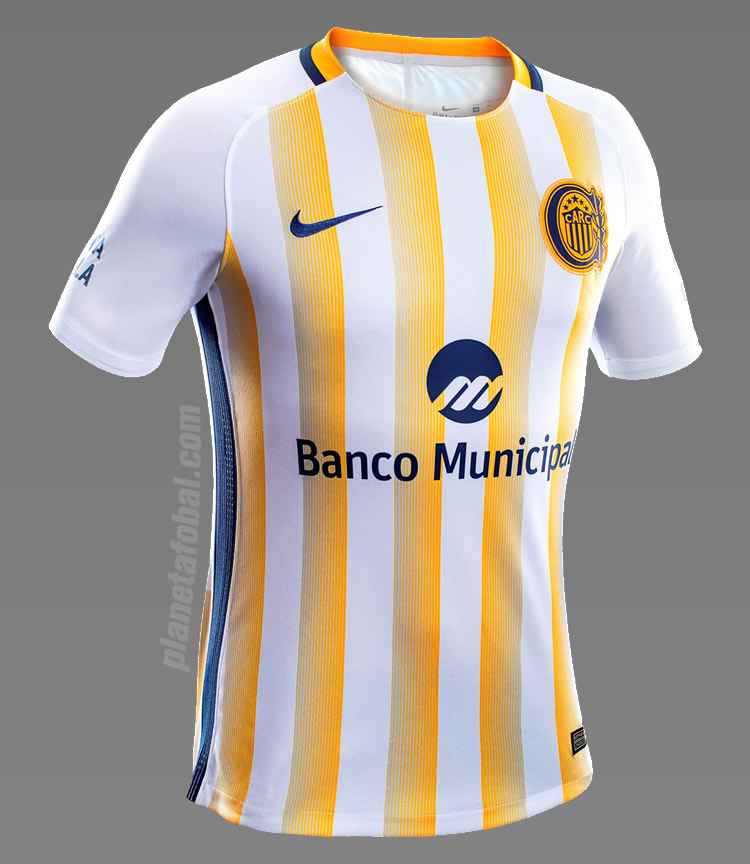 Nueva camiseta suplente de Rosario Central | Foto Diario Olé