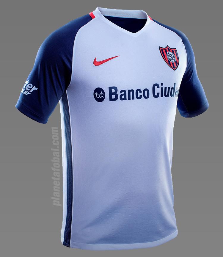 Nueva camiseta suplente de San Lorenzo   Foto Diario Olé