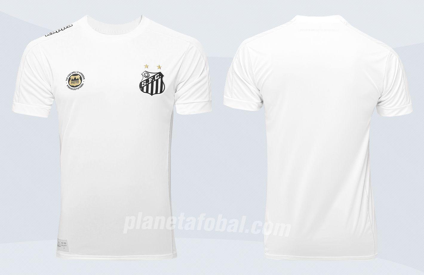 Nueva camiseta del Santos FC | Imágenes Tienda Oficial