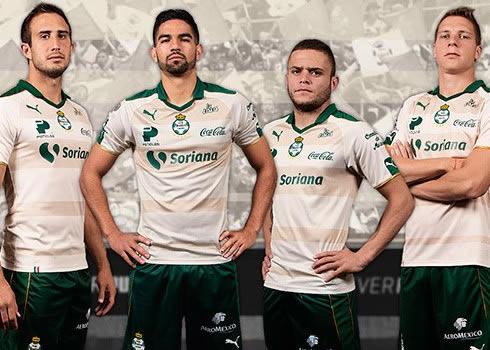 Tercera camiseta del Santos Laguna para 2017   Foto Puma México
