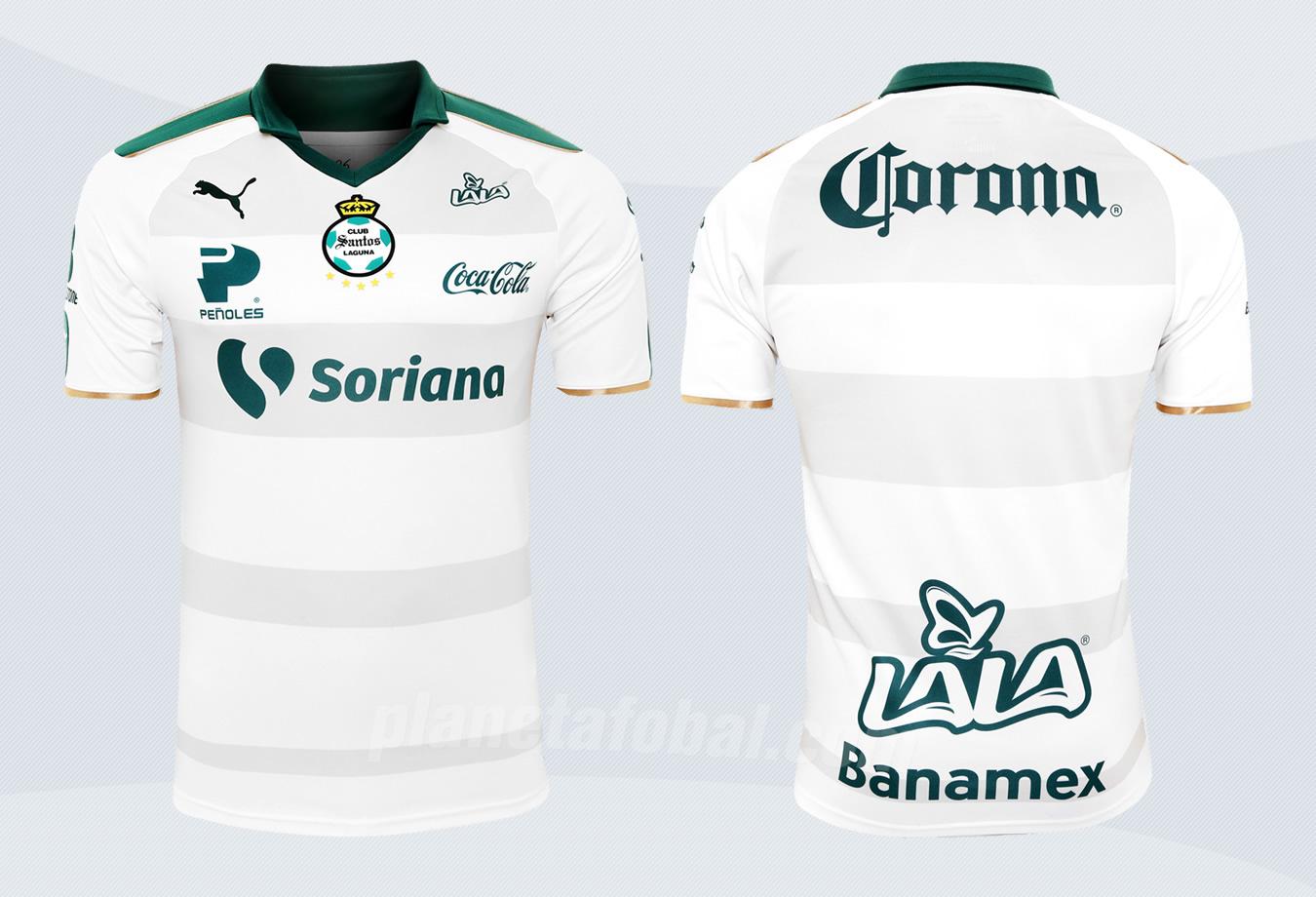 Tercera camiseta Puma del Santos Laguna para 2017 | Imágenes Tienda Oficial