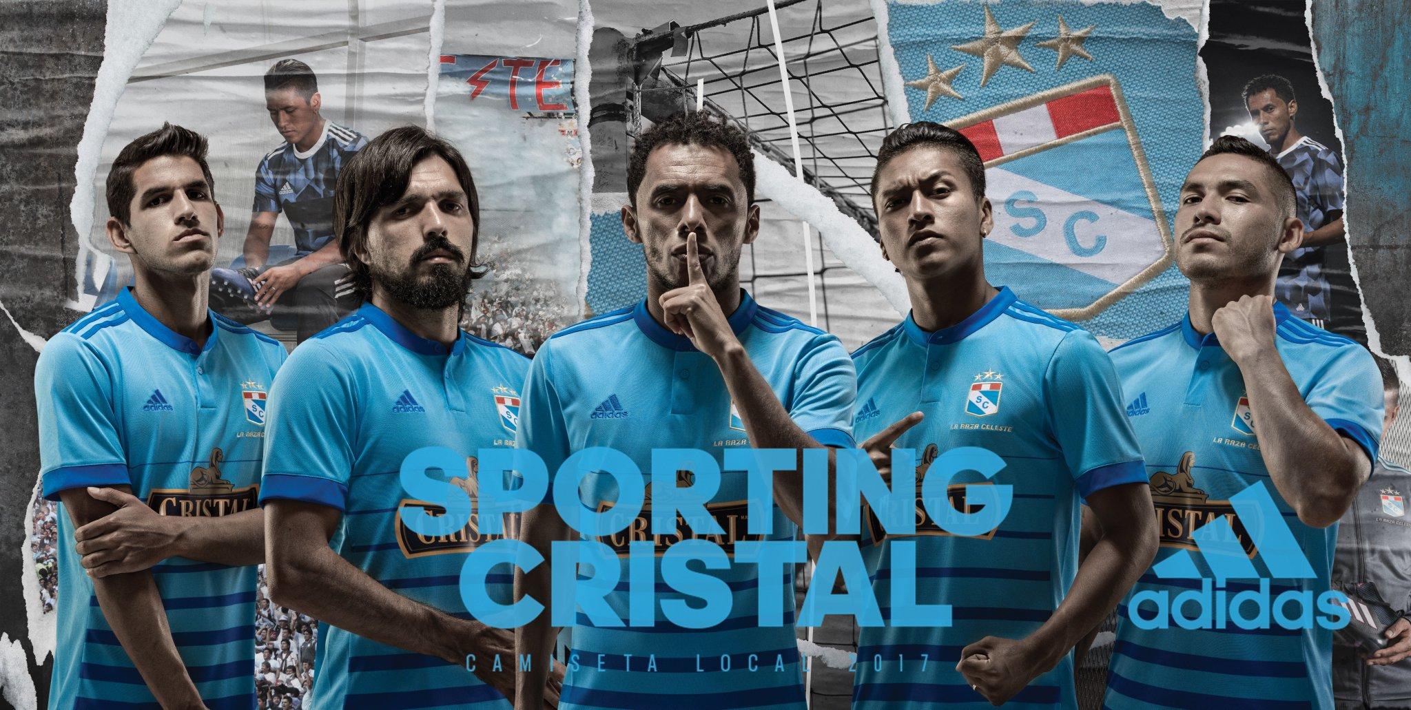 Nueva camiseta titular del Sporting Cristal | Foto Twitter Oficial