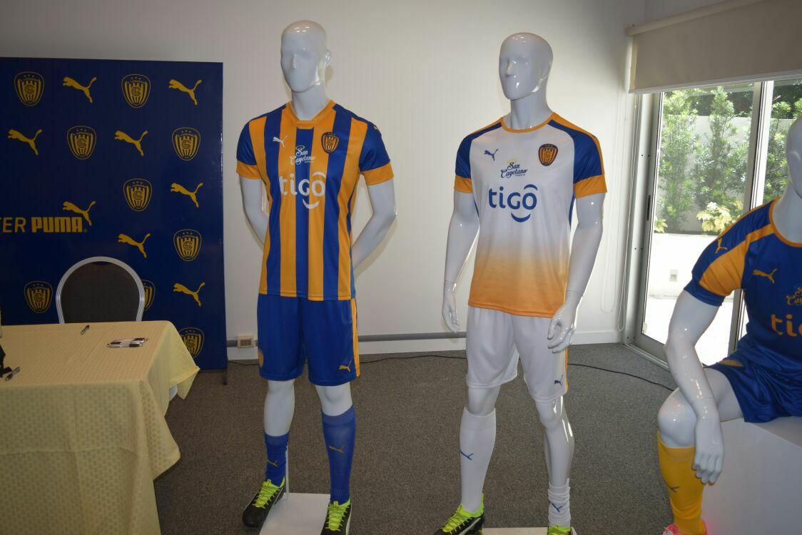 Nuevas camisetas de Sportivo Luqueño | Foto Facebook Oficial