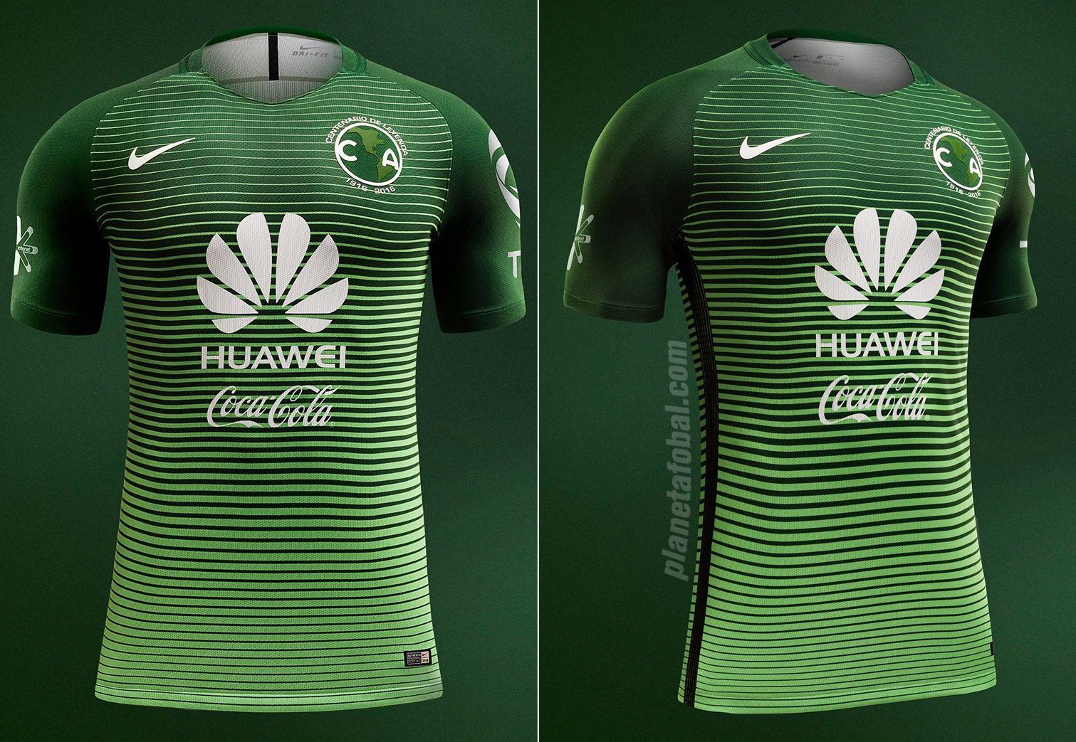Tercera camiseta del Club América para el Clausura 2017 | Imágenes Nike México