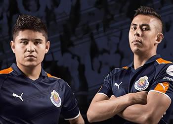 Tercera equipacion de las Chivas para el Clausura 2017 | Foto Puma México