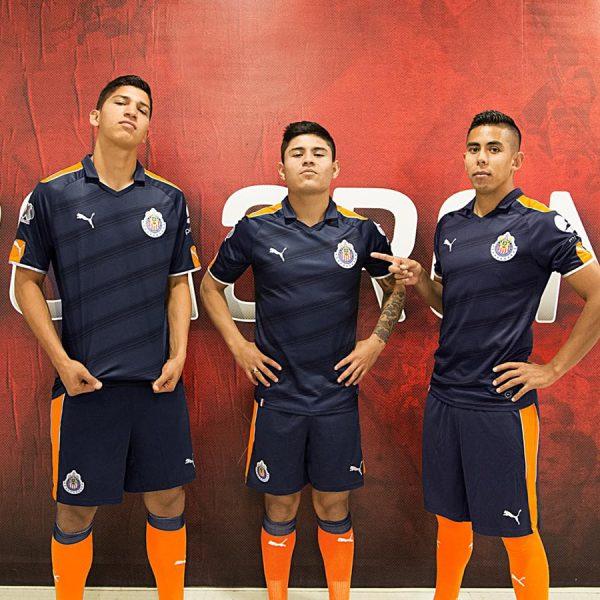 Tercera equipacion de las Chivas para el Clausura 2017   Foto Puma México