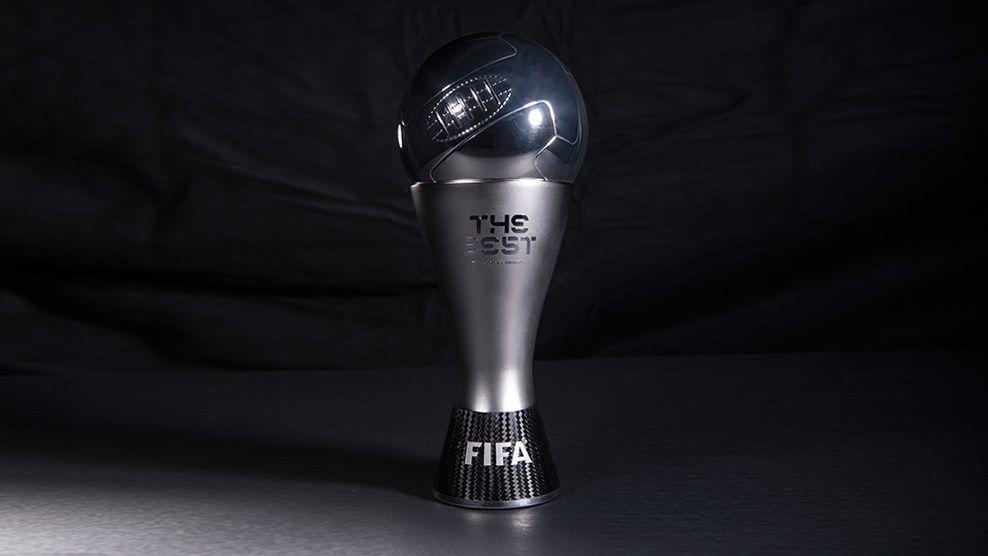 "Asi luce el trofeo para ""The Best"" | Foto FIFA"