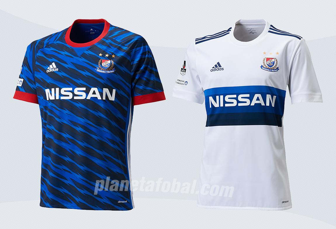 Nuevas casacas del Yokohama F Marinos | Imágenes Web Oficial