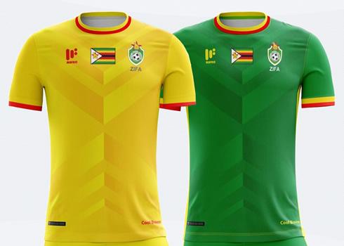 Nuevas camisetas de Zimbabue   Imágenes Mafro