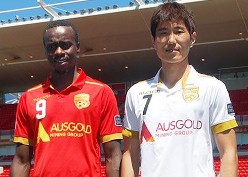 Nuevas casacas del Adelaide United | Foto Web Oficial