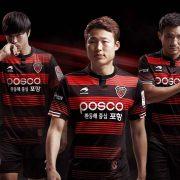 Nueva casaca titular del Pohang Steelers   Foto Facebook Oficial