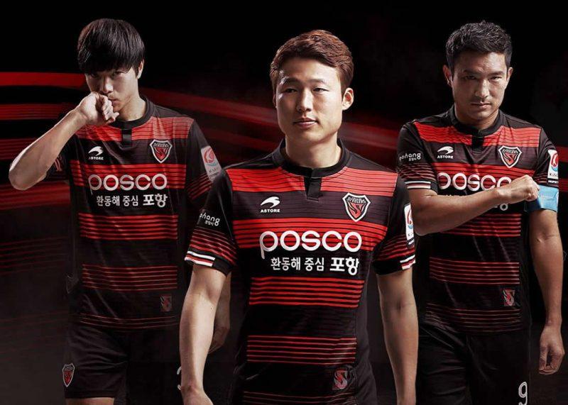 Nueva casaca titular del Pohang Steelers | Foto Facebook Oficial