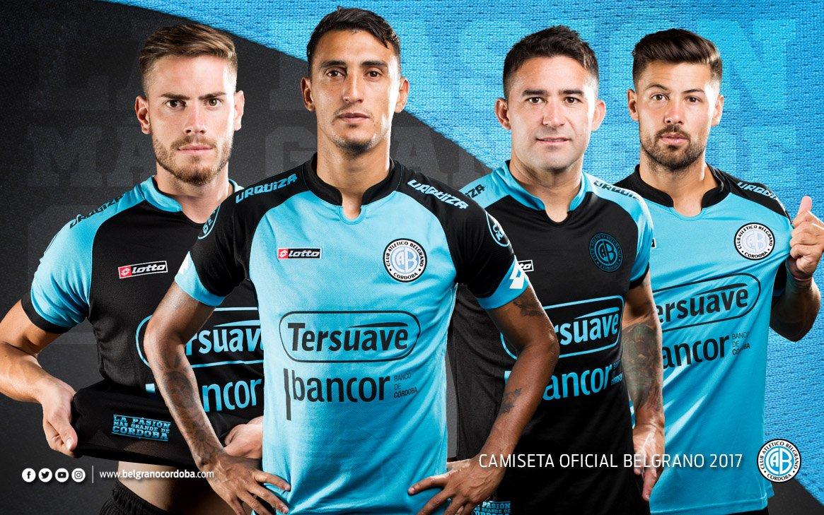 Nuevas camisetas de Belgrano | Foto Web Oficial
