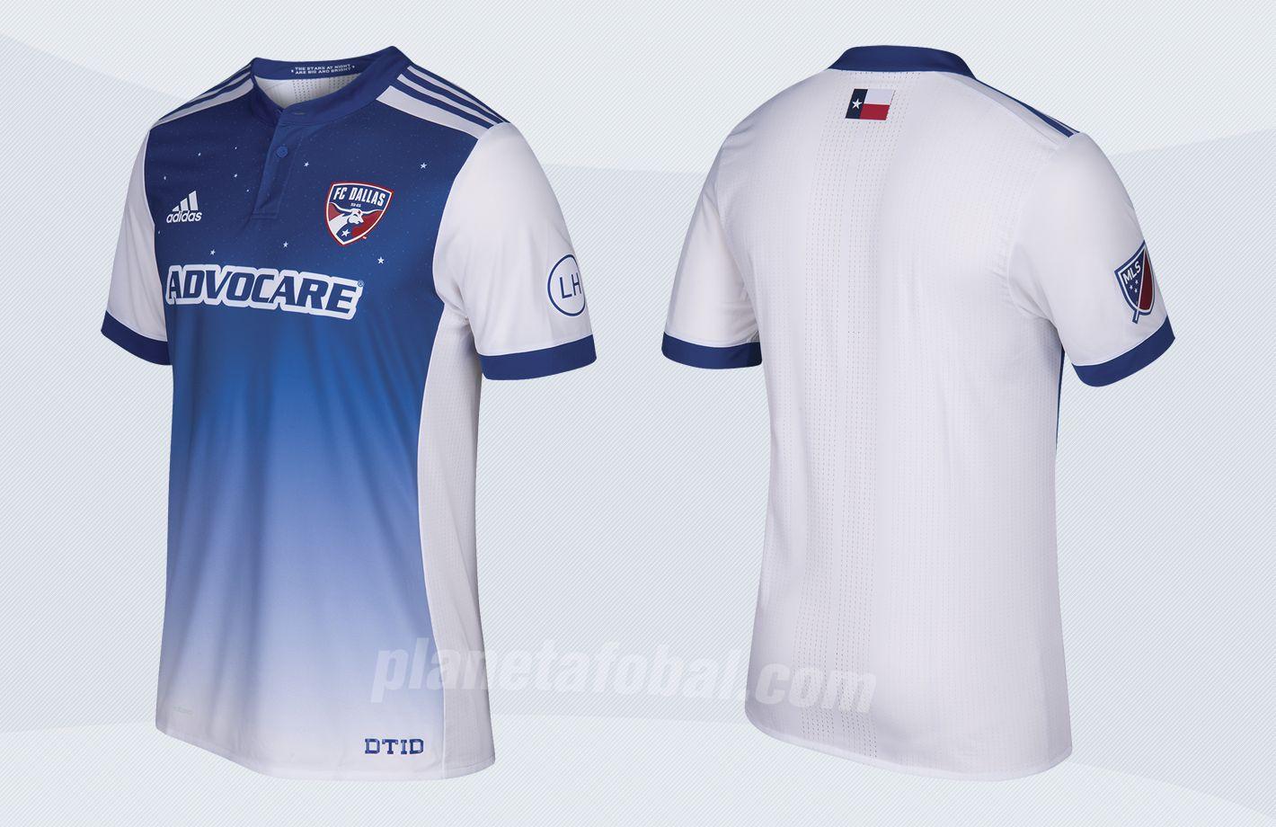 Camiseta suplente del FC Dallas para la MLS 2017 | Imágenes Tienda Oficial