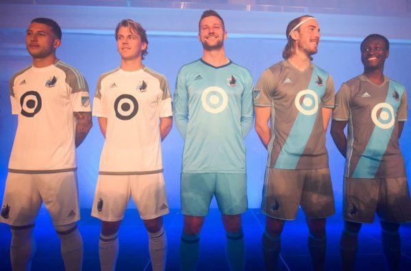 Camisetas Adidas de Minnesota United FC para la MLS 2017 | Foto web oficial