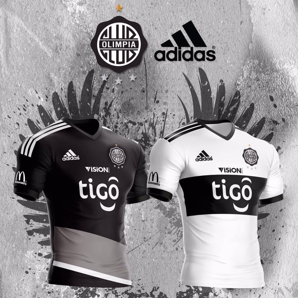 Olimpia presentó sus camisetas 2017 | Foto Facebook Oficial