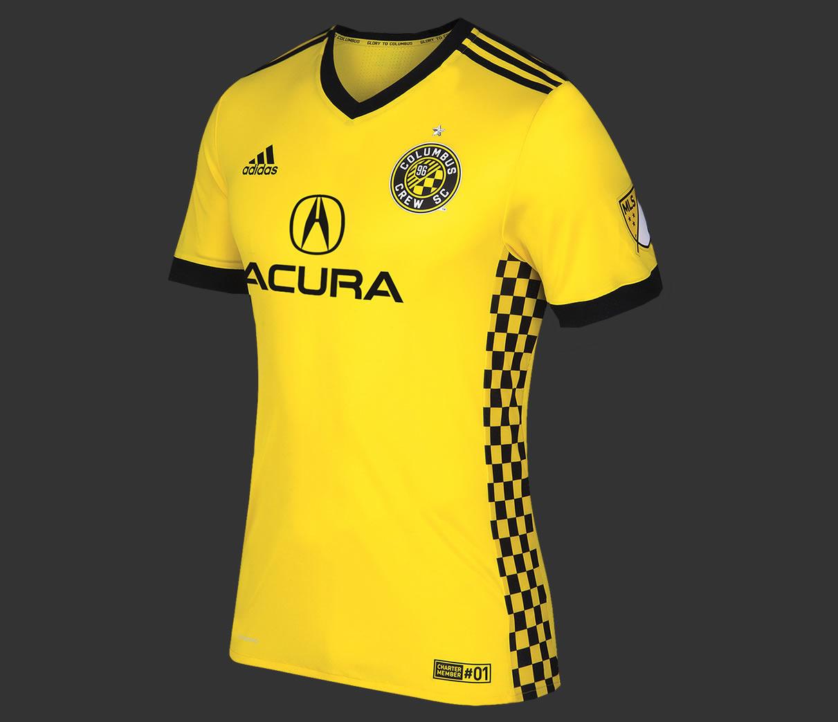 Camiseta Adidas Del Columbus Crew 2017/18
