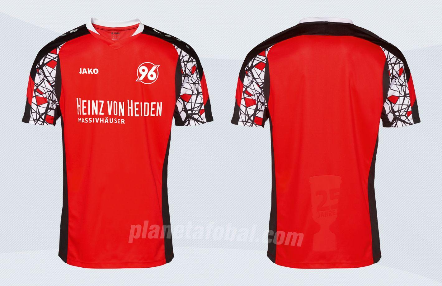 Camiseta Jako del Hannover 96 | Imágenes Web Oficial