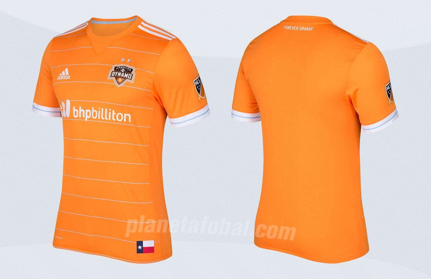Nueva camiseta del Houston Dynamo | Imágenes Tienda Oficial