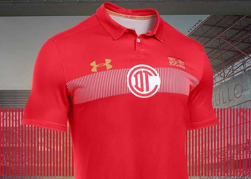 Camiseta especial del Toluca  db8864e290624