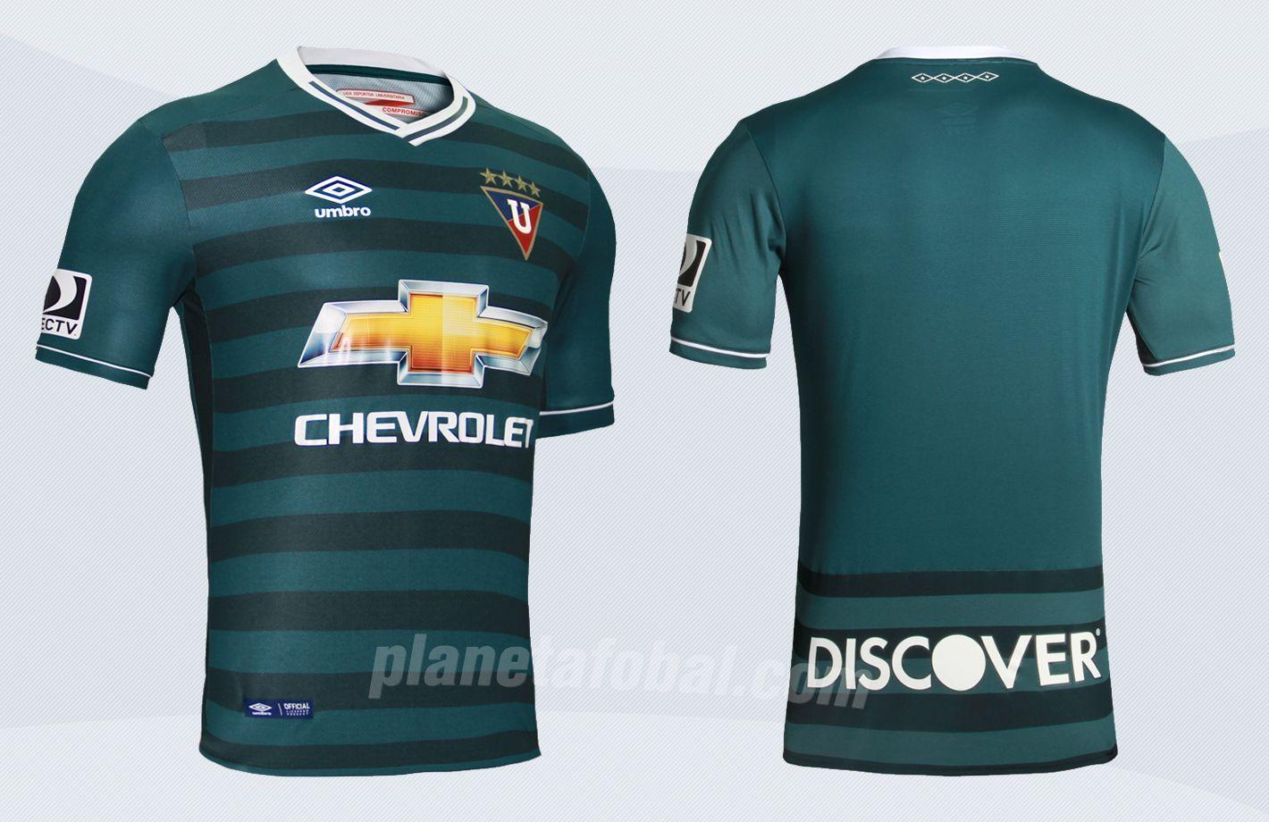 Nueva camiseta de la Liga de Quito | Imágenes Marathon