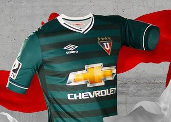 Nueva camiseta de la Liga de Quito | Foto Umbro
