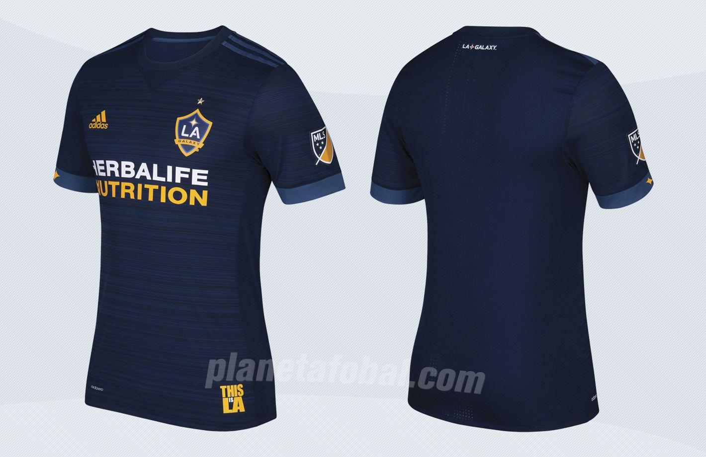 Camiseta suplente de Los Ángeles Galaxy para 2017 | Imágenes Tienda Oficial