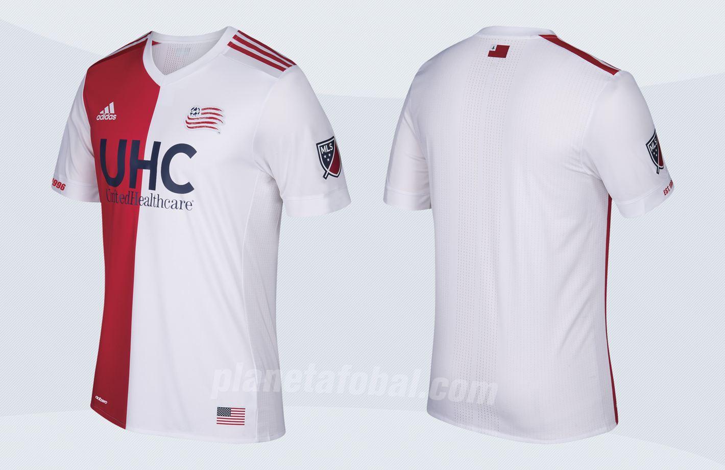 Nueva camiseta suplente de los Revs | Imágenes Tienda Oficial