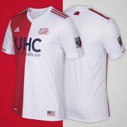 Nueva camiseta de New England Revolution | Foto Web MLS