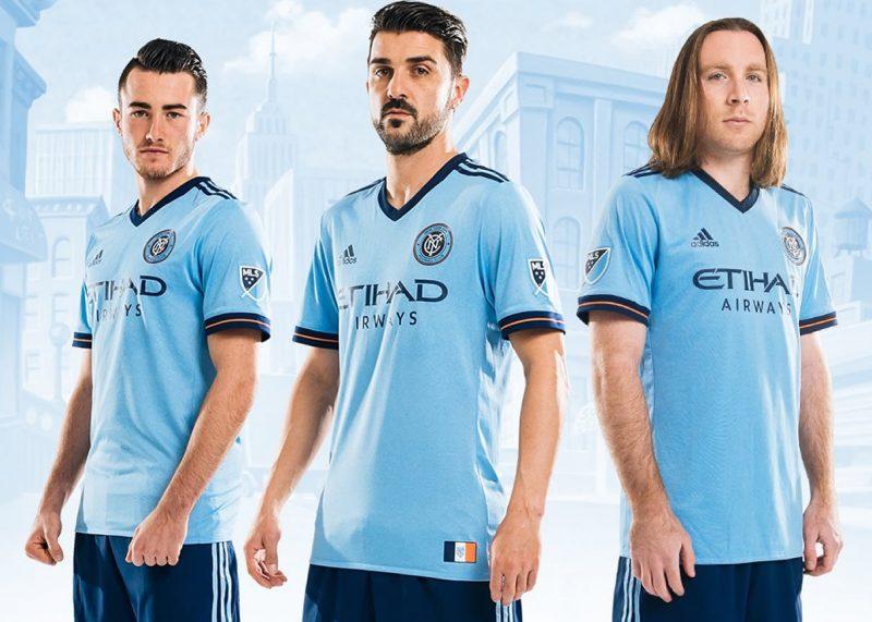 Nueva camiseta del New York City | Foto Web Oficial