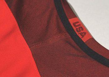 Camiseta roja de los Estados Unidos | Foto USSoccer