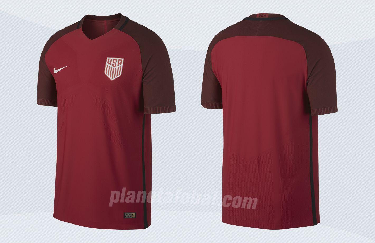 Camiseta roja de los Estados Unidos | Imágenes Nike