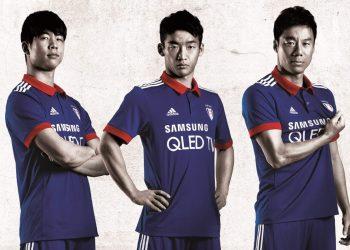 Nueva camiseta del Suwon Bluewings | Foto Web Oficial
