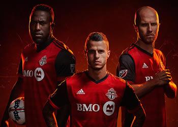 Nueva camiseta de Toronto FC | Foto Web Oficial