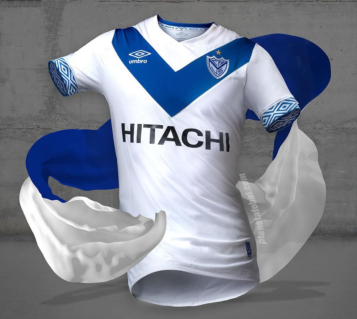 Camiseta titular de Velez | Foto Twitter Oficial