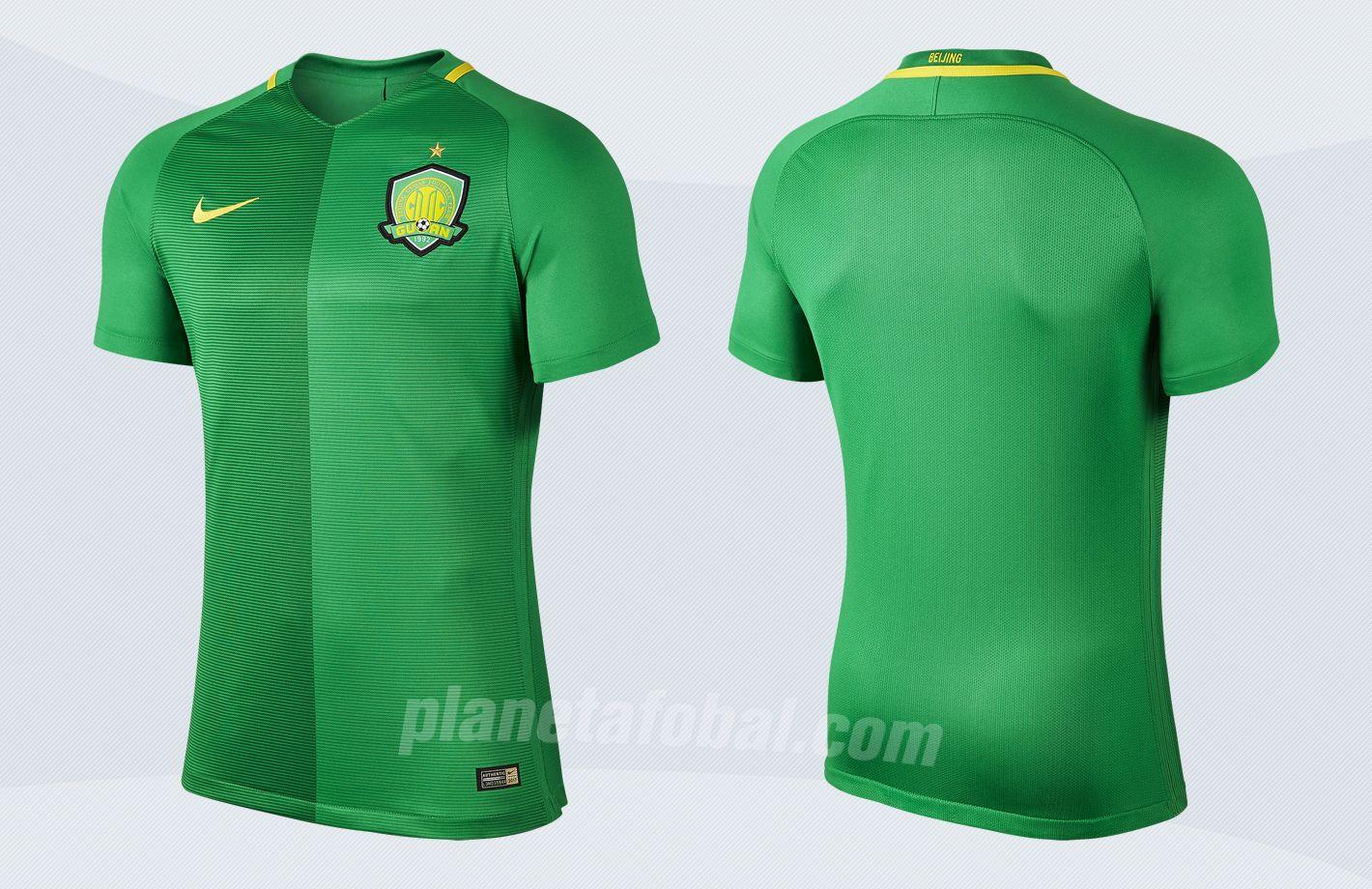 Camiseta titular del Beijing Guoan | Imágenes Nike