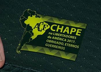 Nueva camiseta del Chapecoense | Foto Umbro
