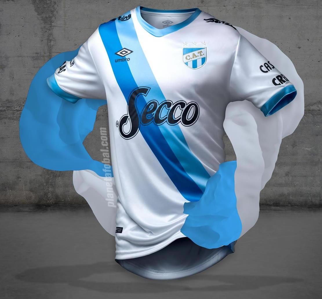 Tercera camiseta Umbro de Atlético Tucumán 2017 28a66efc02e61
