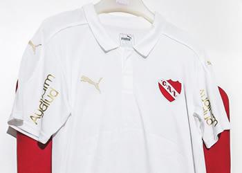 Nueva camiseta de Independiente | Foto Web Oficial