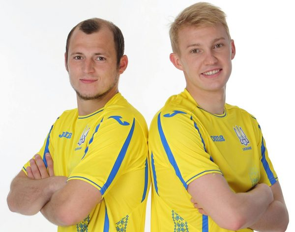 Camiseta titular de Ucrania | Foto FFU