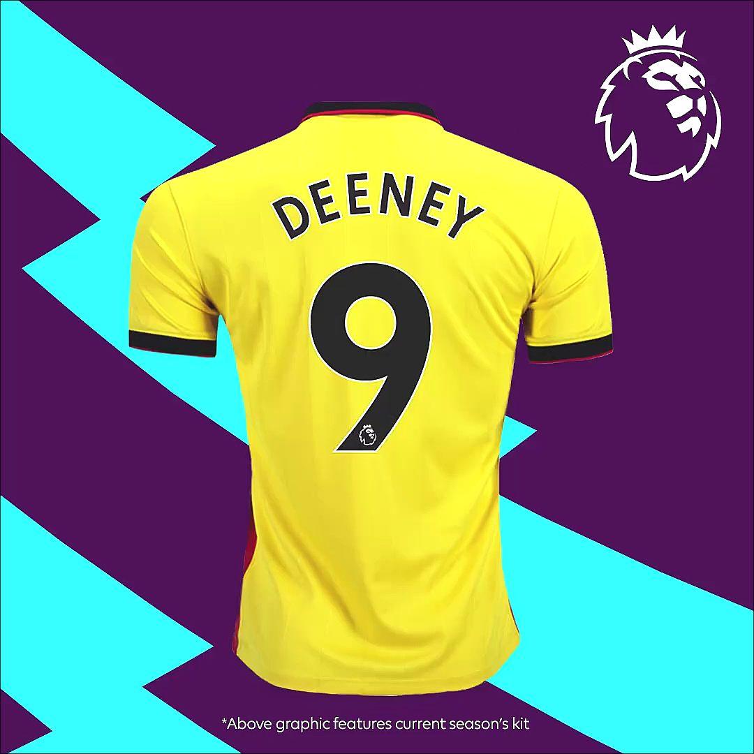 descuento en venta replicas mejor valor La Premier League renueva la tipografía para las camisetas